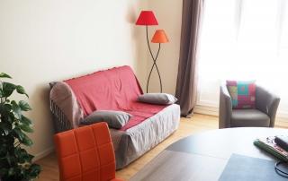 Canapé de consultation (Alicia Bonnin, Psychologue et Neuropsychologue, Tours - La Riche)